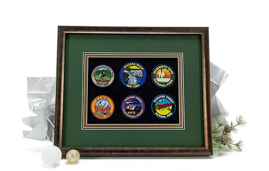 Custom Framed Patches