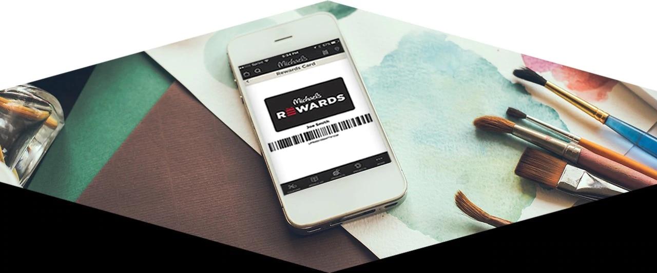 Michaels Rewards mobile experience